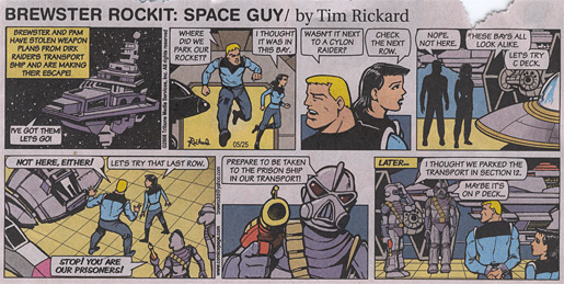 Brewster Rockit: Space Guy!