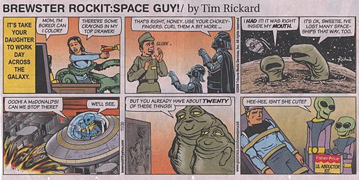 Brewster Rockit: Space Guy! (or the reason I read the Sunday comics again)