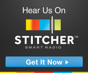 Listen to us on Stitcher Smart Radio